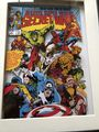 Marvel Secret Wars 3D Diorama Shadow Box
